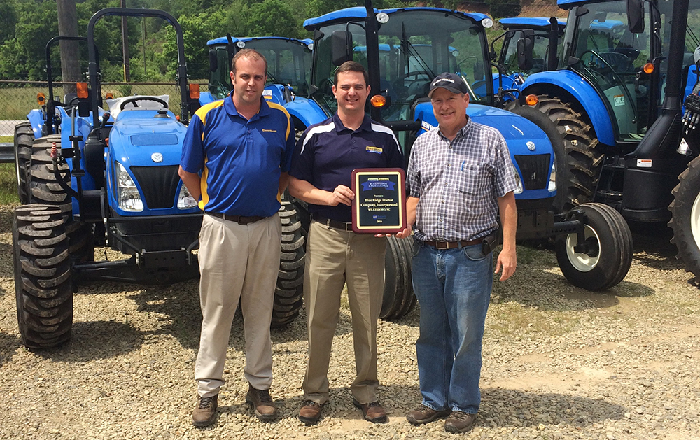 New Holland Blue Ribbon Excellence Dealer